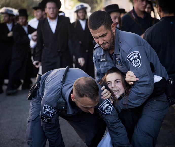 הפגנות חרדים בירושלים