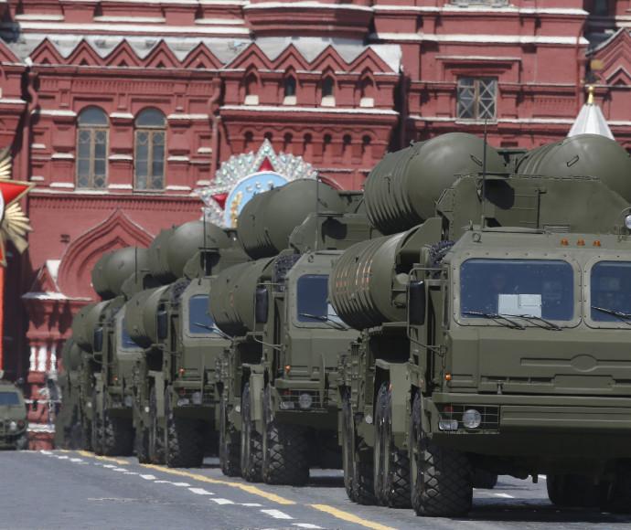 """מערכות נ""""מ S-400"""