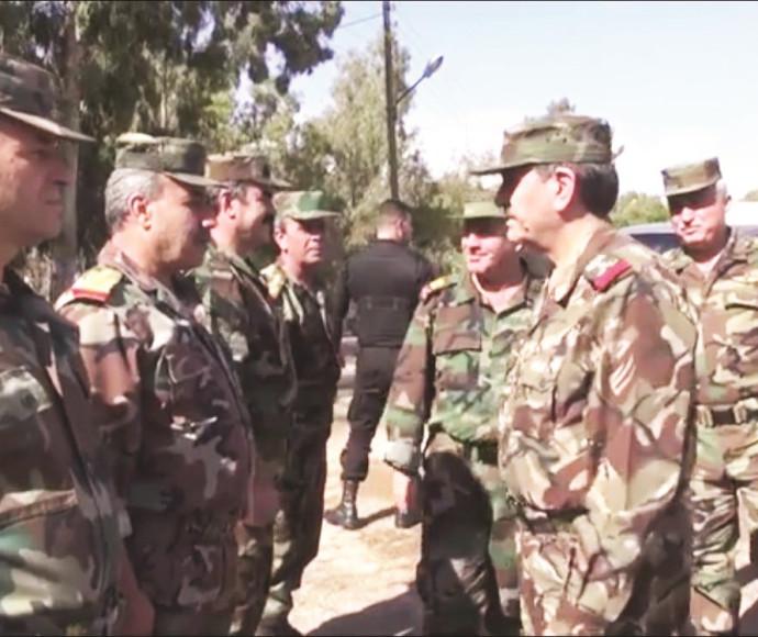 שר ההגנה הסורי בקוניטרה