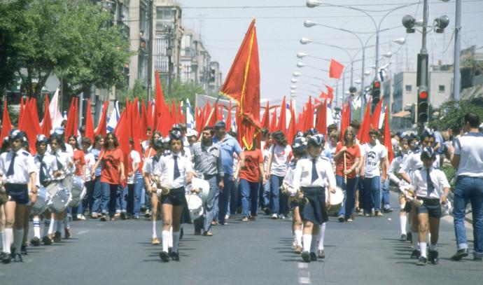 מצעד ה1 במאי בתל אביב