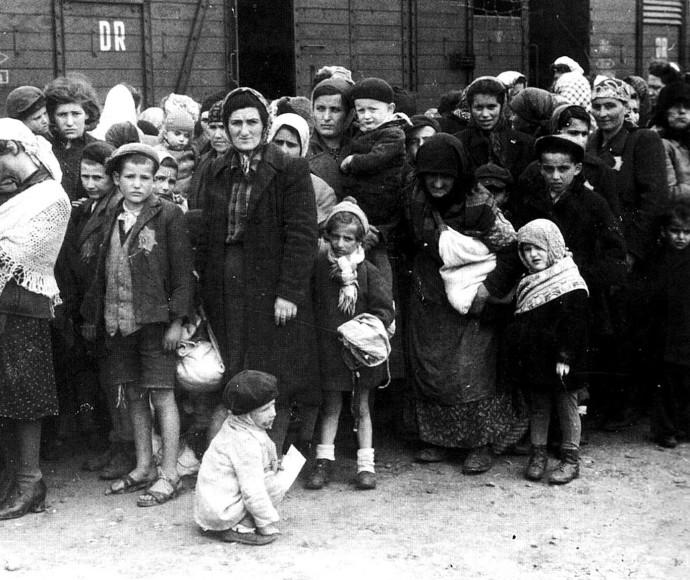 יהודי הונגריה בדרך למחנות ההשמדה