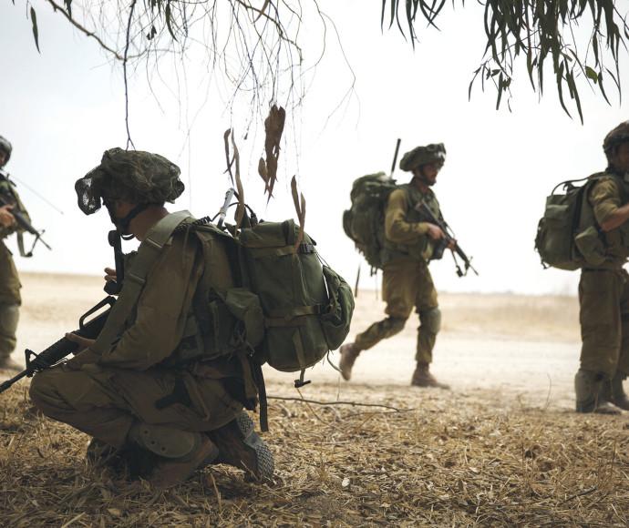"""חיילי צה""""ל בצוק איתן"""