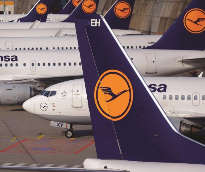 מטוסים של חברת לופטהנזה