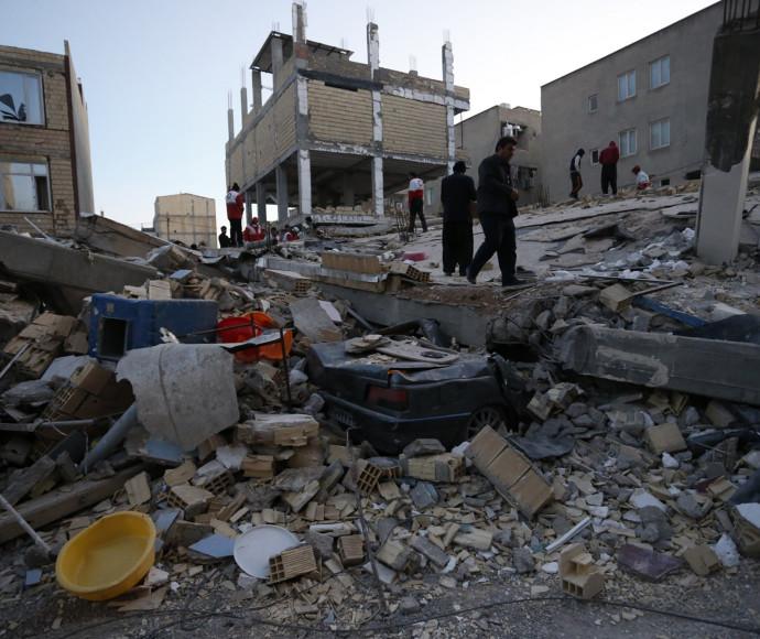 רעידת אדמה בגבול איראן-עיראק