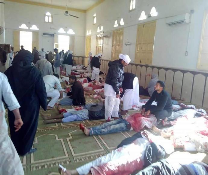 פצועים בפיגוע במסגד סמוך לאל עריש