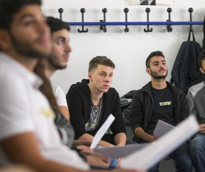 תלמידים בברלין, למצולמים אין קשר לכתבה