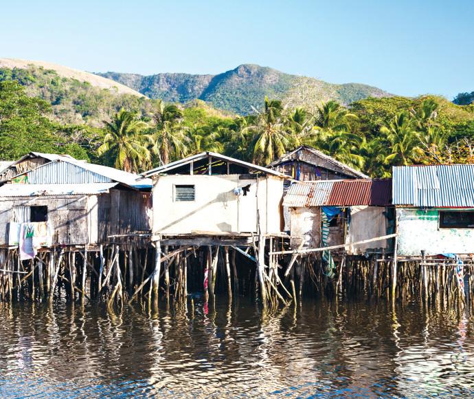 כפרים צפים בקמבודיה