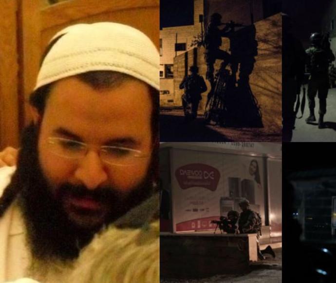 """פעילות כוחות הביטחון בג'נין ללכידת רוצחי הרב שבח ז""""ל"""