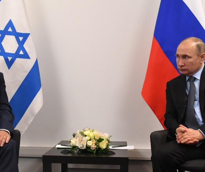 נתניהו ופוטין במוסקבה