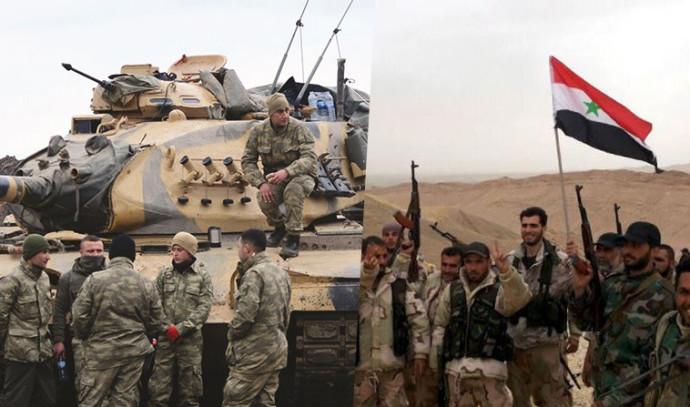 """למנוע פלישה טורקית"""": הצבא הסורי השתלט על האזורים הכורדים 477046"""