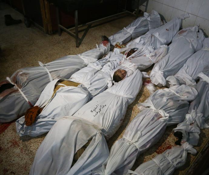 הרוגים מהפצצת צבא סוריה בח'וטא