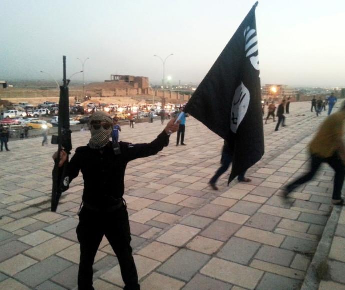 לוחם דאעש, אילוסטרציה