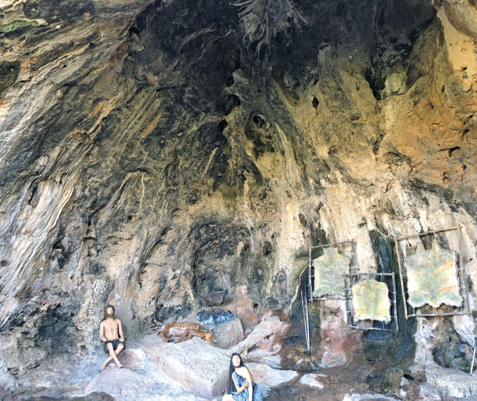 טיול בשמורת נחל מערות שבכרמל