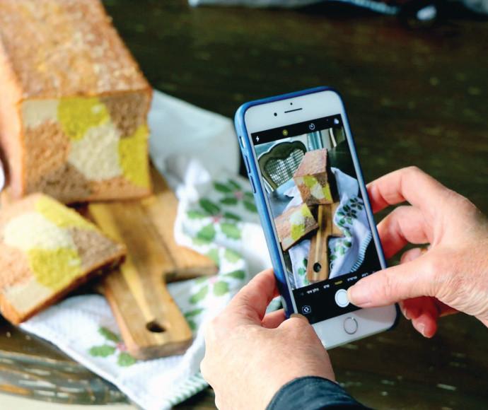 סדנת צילום אוכל באמצעות הטלפון הנייד