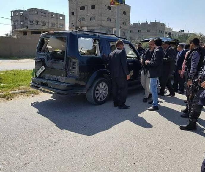 רכבו של רמי חמדאללה