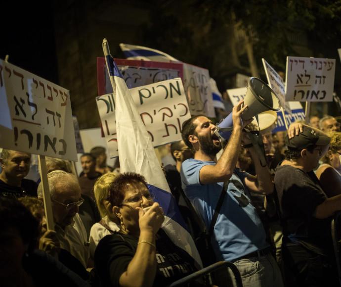 הפגנה נגד המסתננים