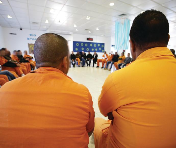 אסירים בכלא חרמון