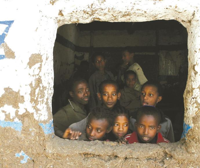 בני הקהילה היהודית בגונדר, אתיופיה
