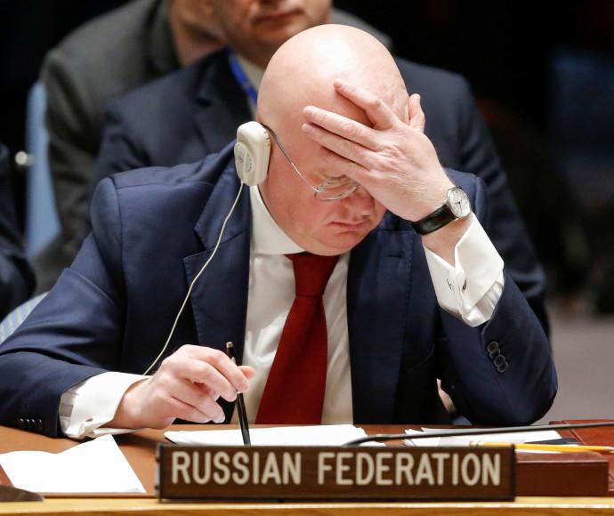 """שגריר רוסיה לאו""""ם"""