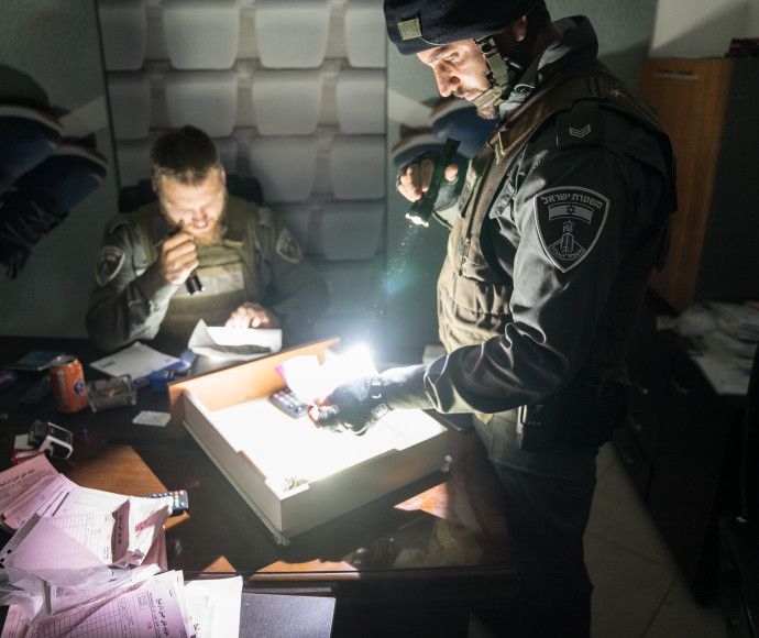 """שוטרי מג""""ב שחשפו את רשת הברחת הביצים"""