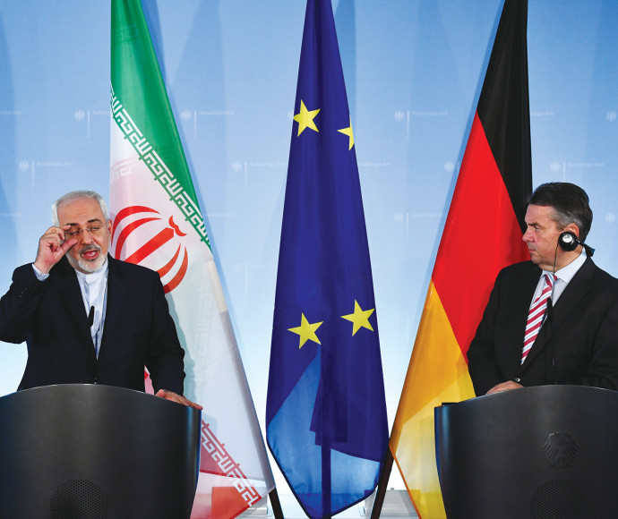 זריף וגבריאל, לשעבר שר החוץ הגרמני