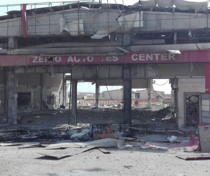 תמונות ראשונות של ההרס מהתקיפה בסוריה