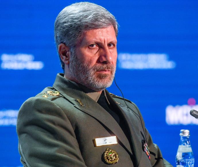 שר ההגנה האיראני אמיר חתאמי
