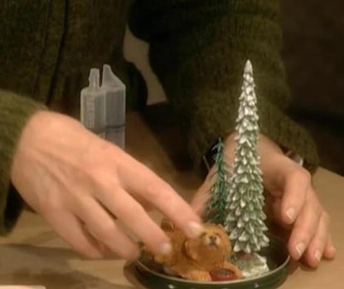 עשה זאת בעצמך: יצירת כדורי שלג עם מרתה סטיוארט