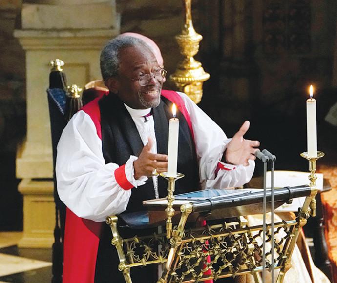 הבישוף מייקל קרי