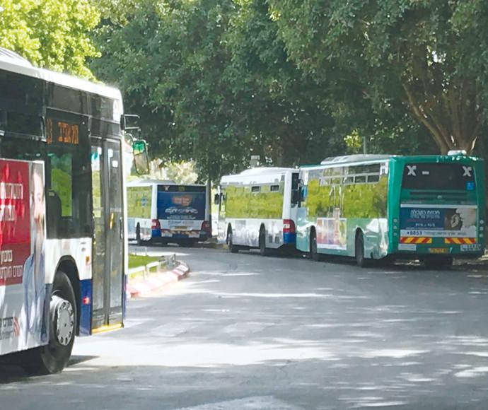 אוטובוסים (אילוסטרציה)