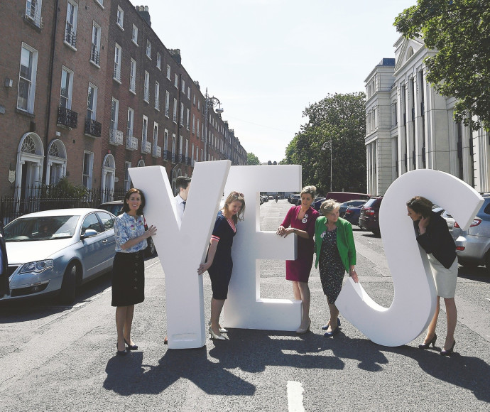 תומכות בביצוע הפלות באירלנד