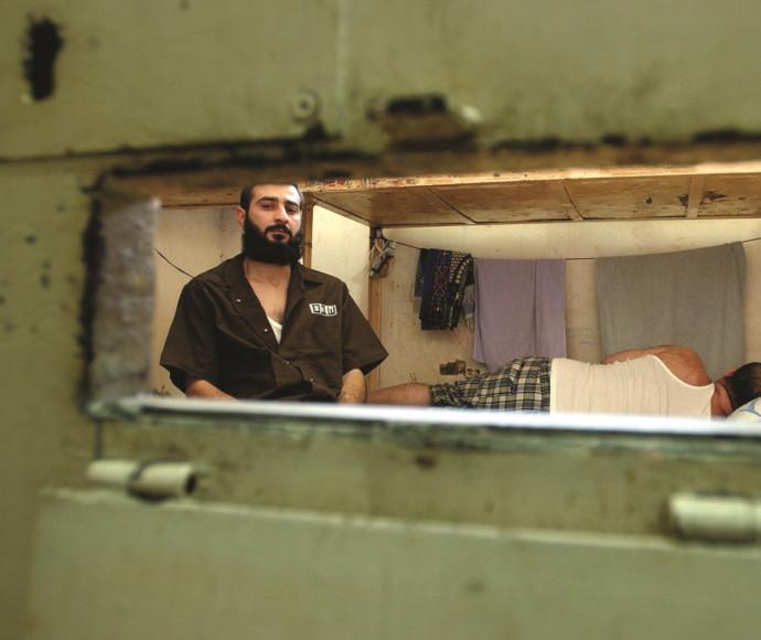 אסירי חמאס בכלא שקמה