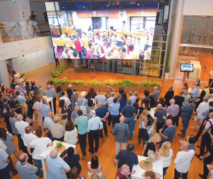 האירוע בבורסה