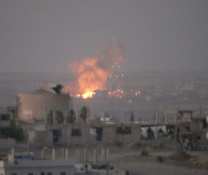 הפצצות בדרעא
