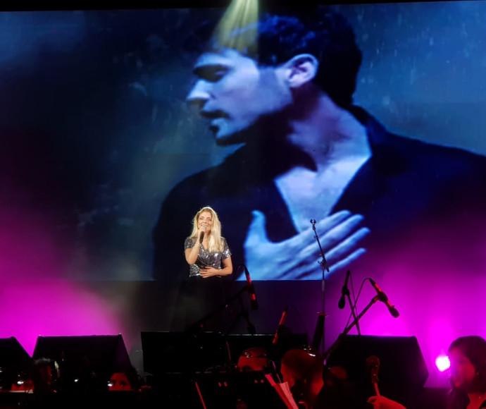 שירי מימון באירוע לזכרו של אמיר גוטמן