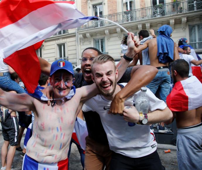 חגיגות המונדיאל בצרפת
