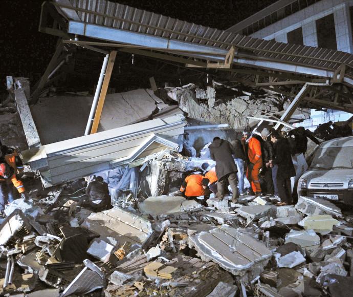 רעידת אדמה בטורקיה, ארכיון