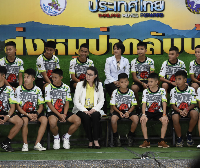 הנעורים שחולצו מהמערה בתאילנד