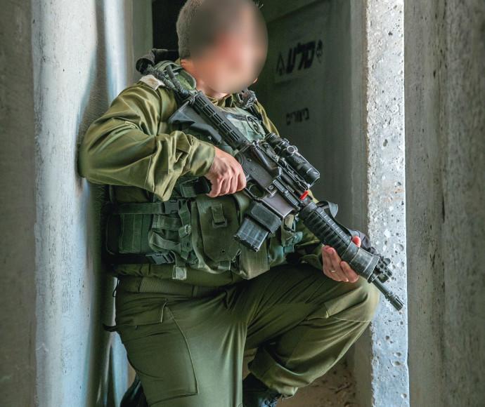 """סא""""ל א', מפקד יחידת המנהרות של יהל""""ם"""