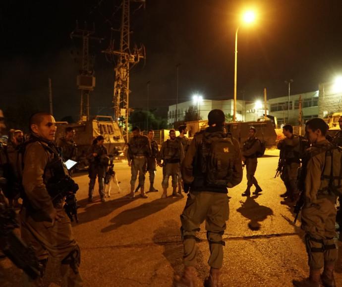 """פעילות כוחות צה""""ל בכפר כובר"""