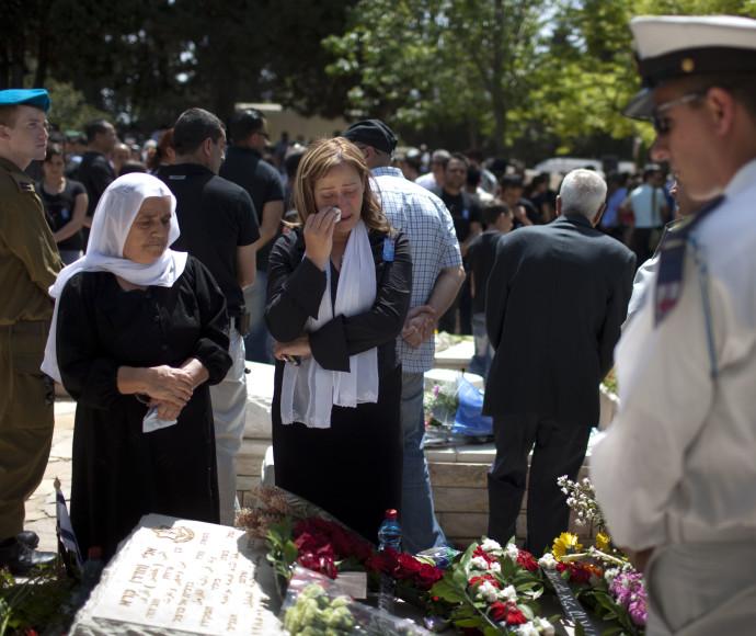 משפחה דרוזית ביום הזיכרון