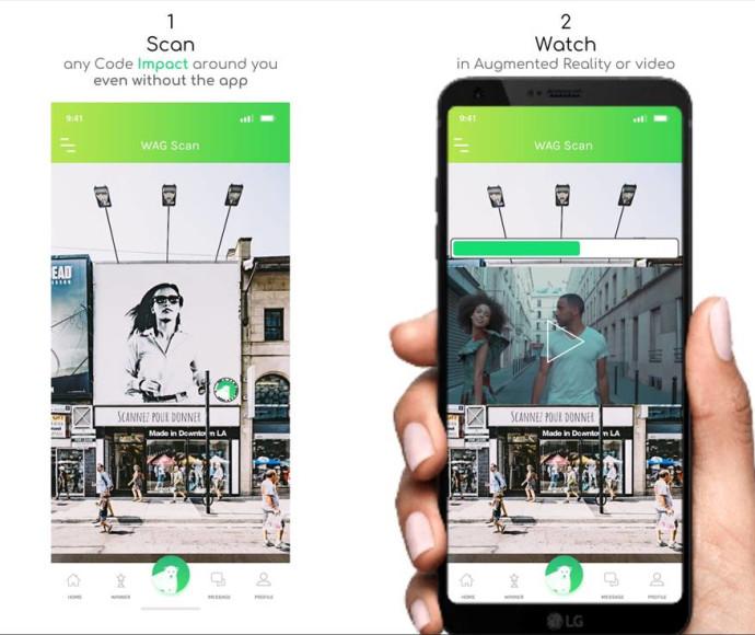 אפליקציית Watch And Give