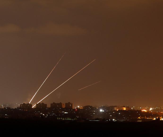 ירי לעבר ישראל מרצועת עזה