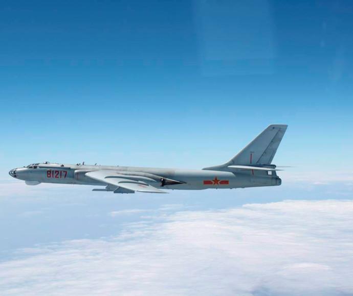 מפציץ של חיל האוויר הסיני