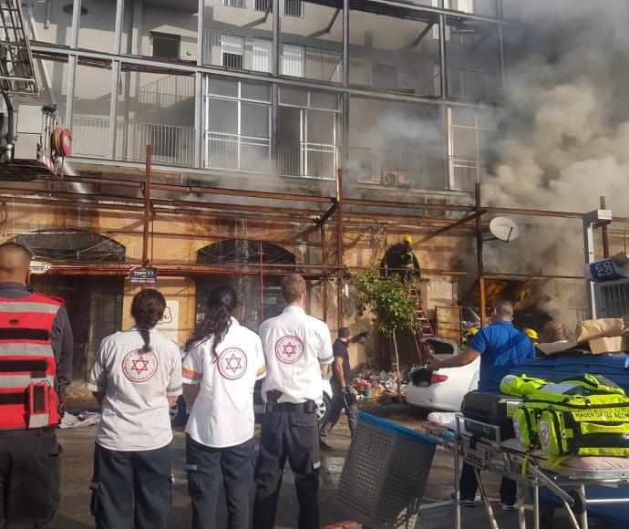 השריפה בחנות ביפו