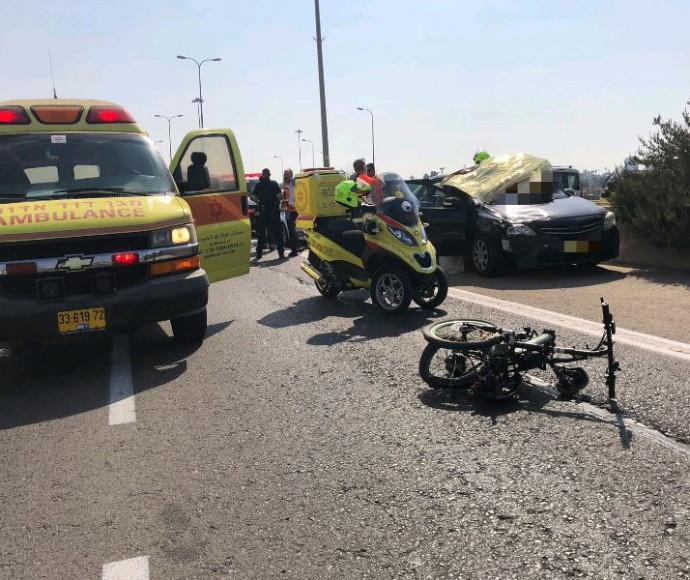 התאונה בכביש 40