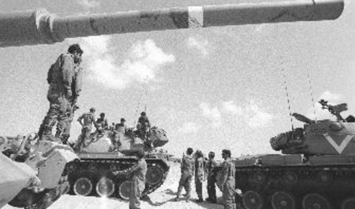 טנקים במלחמת יום כיפור