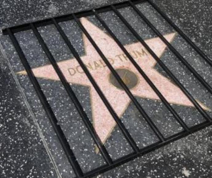 השחתת הכוכב של טראמפ בהוליווד