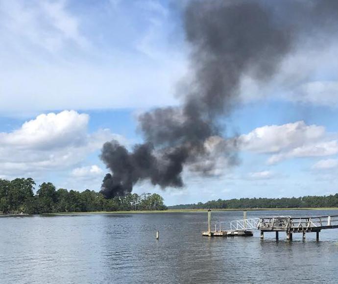 התרסקות ה-F-35 בדרום קרוליינה