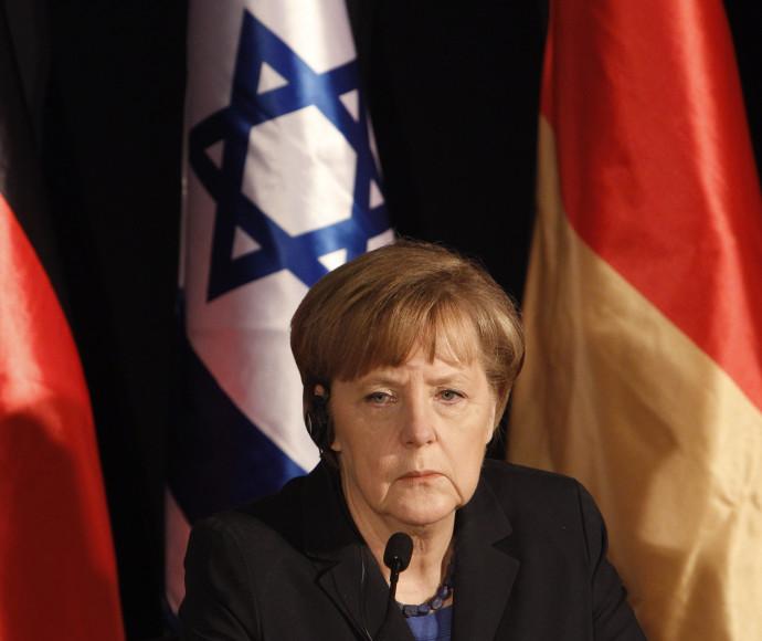 אנגלה מרקל בישראל בשנת 2014